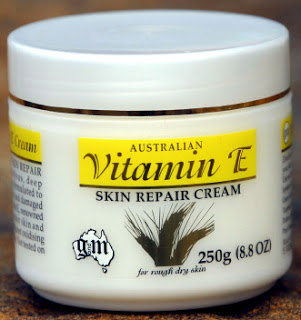 Commercially available Vitamin E creams and lotions are widely touted as beneficial to wound healing.  But is that the case for traumatic lacerations?